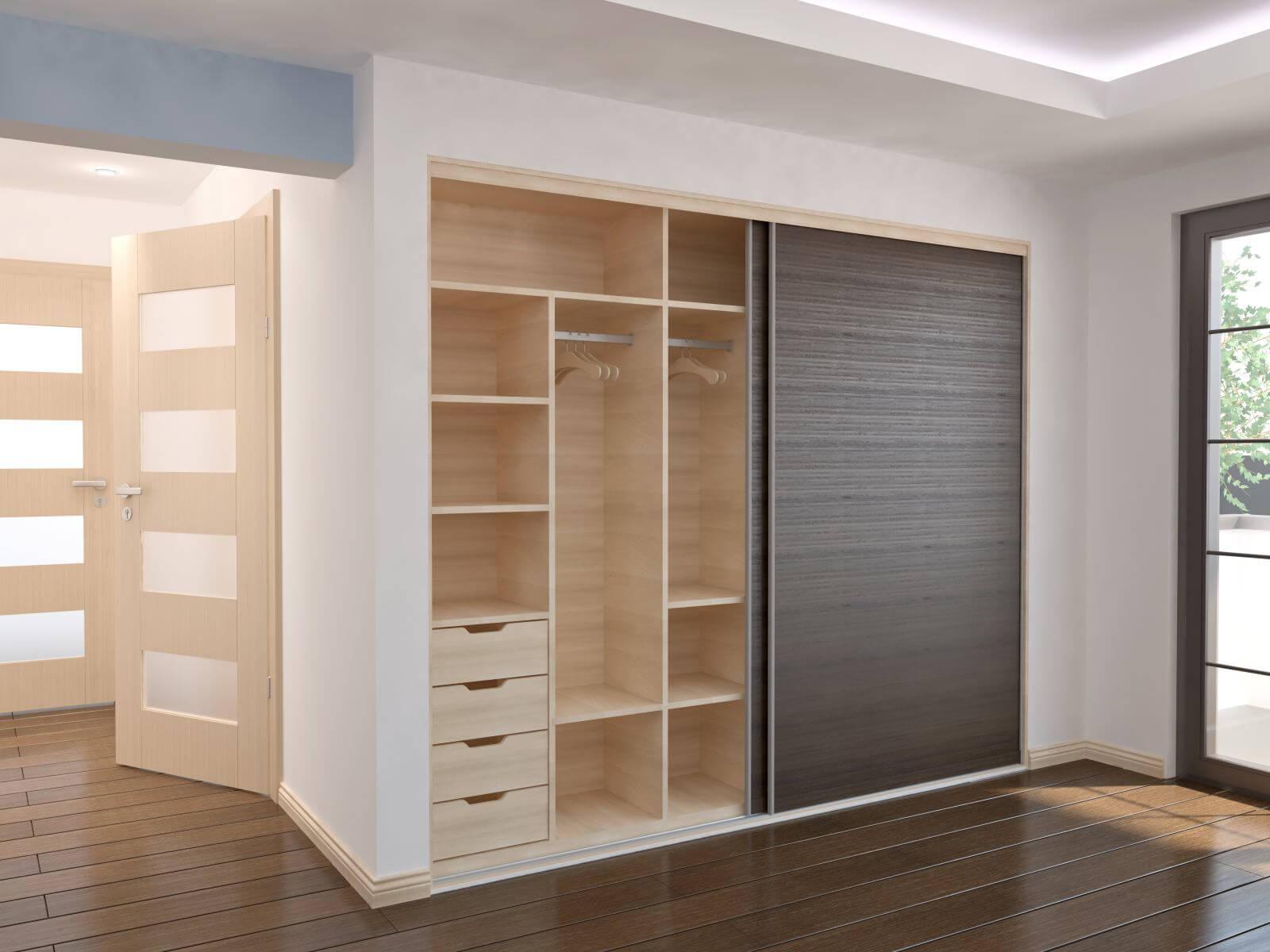 Wardrobe - Sliding doors - interior