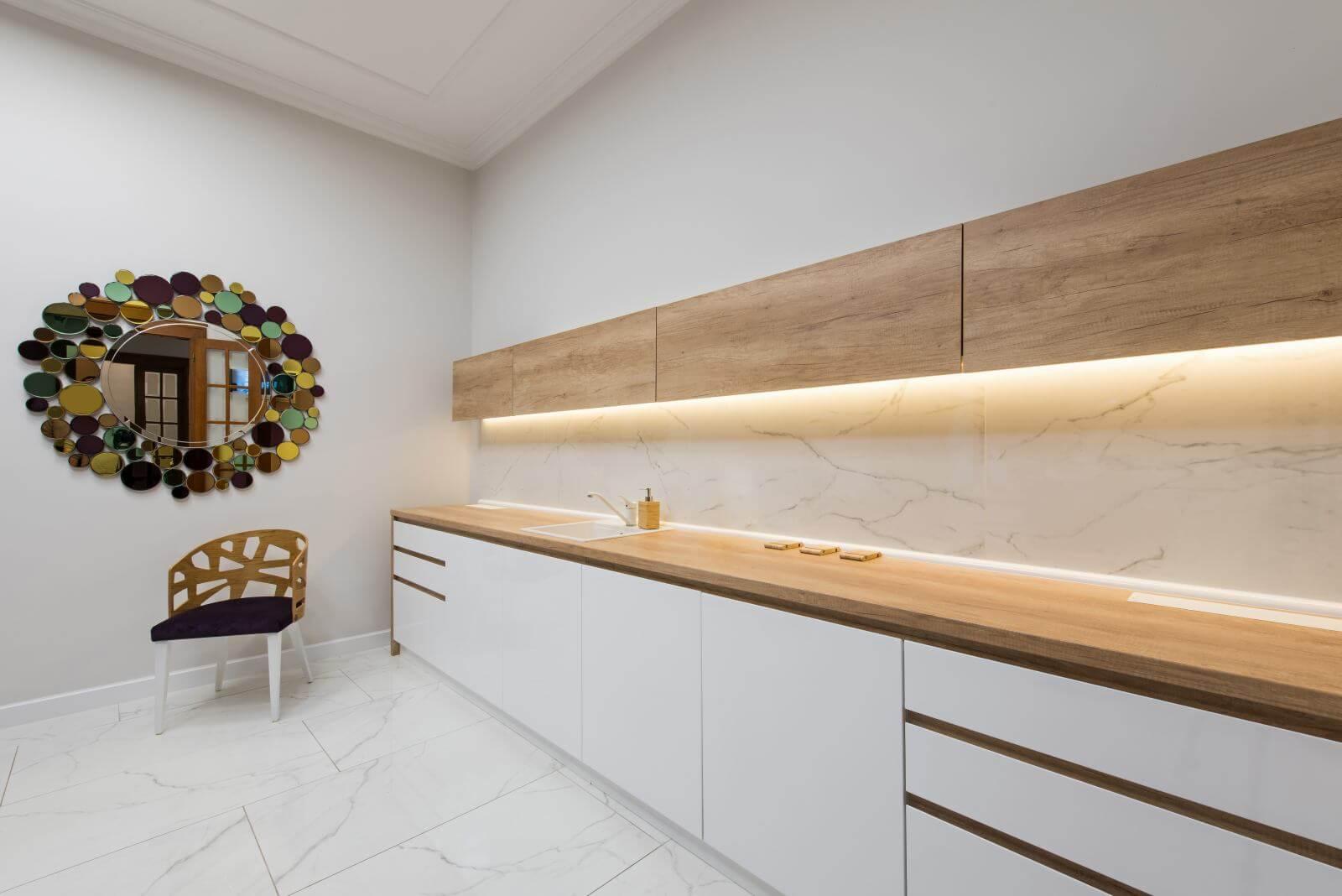 Dental laboratory in dental clinic